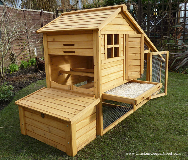 Chicken coop review the sussex chicken house with run for Plans for hen house
