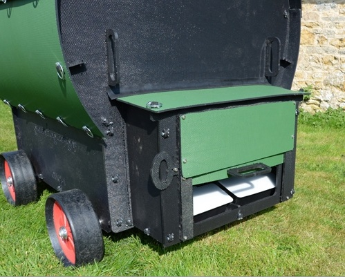 Chicken Wagon Rear