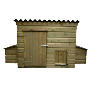 monmouth Hen House for up to 10 hens